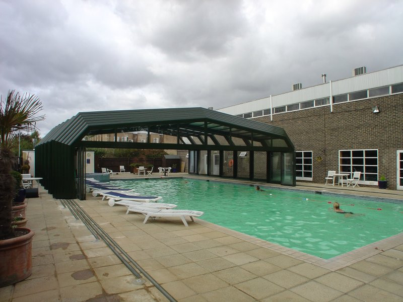 Commercial Swimming Pools Product : Extra large telescopic commercial pool restaurant