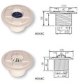 Certikin Wall Inlets for Concrete Pool Dimensions