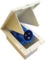Caravan Motorhome Flush Mount 240V Mains Inlet Socket
