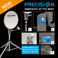 Maxview Precision Satellite tripod caravan and motorhome  system