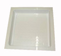 Caravan Shower Tray without Drain Hole