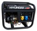 Hyundai HY3100LE 2.8Kw Electric Start Petrol Generator