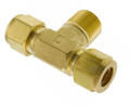 "Gas Connector - 8mm 5/16"" T Coupling"