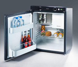 Dometic RM5310 caravan fridge open