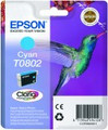 Epson T0802 cyan ink cartridge