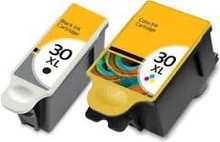Kodak 30XL black Kodak 30XL colour ink cartridges