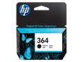 HP 364 black genuine original ink cartridge