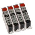 Canon CLI 526 black ink cartridges x 4 inks
