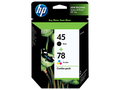 HP 45 HP 78 ink cartridges