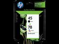 HP 45 HP 78 ink cartridges
