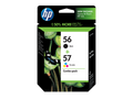 HP 56 HP 57 ink cartridges