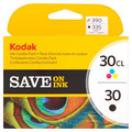 Kodak 30 black & colour ink cartridges