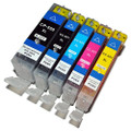 Compatible PGI 550XL Canon CLI 551XL ink cartridges BBCMY Full set of 5 inks