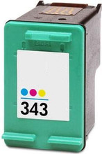 HP 343 colour printer ink cartridge
