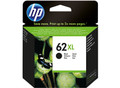 HP 62XL black inkjet ink cartridge. C2P05AE