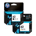 HP 62 black & colour ink cartridge multipack