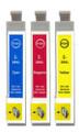 Cyan magenta & yellow 29XL ink cartridges