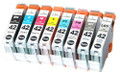 Compatible Canon CLI42 multipack 8 ink cartridges a full set for your Canon Pixma 100, 100S printer