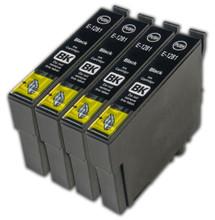 Epson T1281 black printer ink cartridges