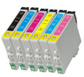 Compatible to Epson T0487 multipack printer ink cartridges