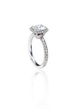 Cushion Cut Solitaire