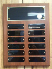9x12 Multi-plated Plaque