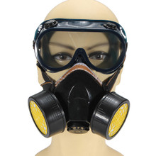 DOUBLE GAS MASK