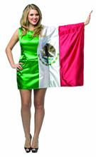 FLAG DRESS MEXICO W