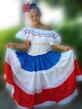 TIPICOS GIRLS D.R. FLAG COLORS FOR CHILDRENS