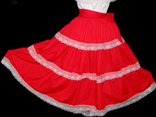 LONG CHILDRENS SKIRT