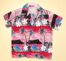 HAWAIIAN BABY SHIRT