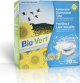 Bio-Vert Automatic Dishwasher Tabs - 30 Tabs - Dye Free & Unscented