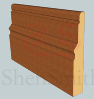 2616 Oak Skirting Board - 3m Lengths