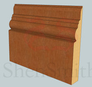 Antique Oak Skirting Board - 3m Lengths