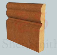 2513 Oak Skirting Board - 2.4m Lengths