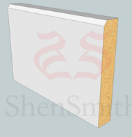 Edge-2 MDF Skirting Board - 5.4m Lengths