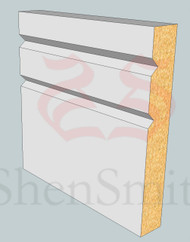 SP01 Profile MDF Skirting Board - 5.4m Lengths