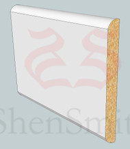SP09 Profile MDF Skirting Board - 5.4m Lengths