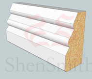 SP23 Profile MDF Skirting Board - 5.4m Lengths
