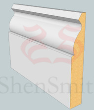 Ogee MDF Architrave - 2.4m Lengths