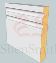 Jazz-2 MDF Architrave - 5.4m Lengths