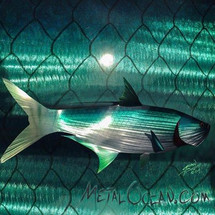 Tarpon - Custom Metal Fish Sculpture