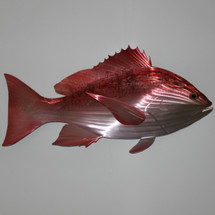 "30"" Red Snapper - Custom Fish Sculpture"