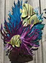 Anemone Butterflies - Small - Custom Sea Life Sculpture