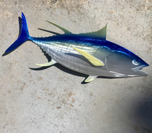 "24"" Yellowfin Tuna  - Custom Fish Sculpture"