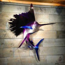 "60"" Sailfish - Custom Fish Sculpture"