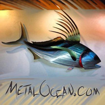 Roosterfish - Custom Metal Fish Sculpture