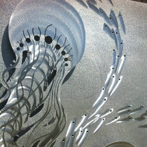 Luminescent Entities - Custom Metal Wall Hanging Sculpture Art