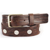 Lanzio Studded Leather Belt