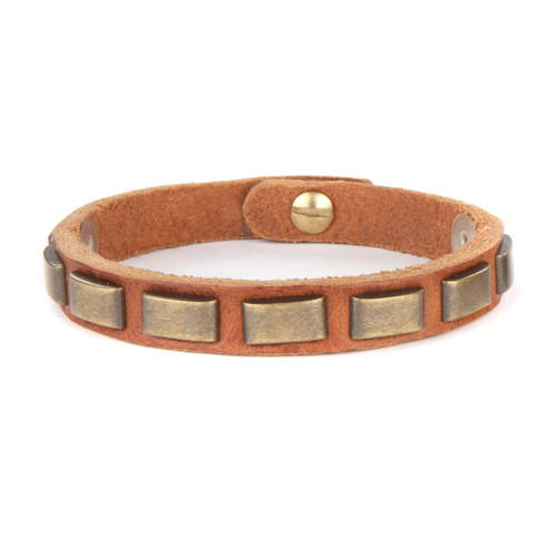 Liva cuff in Brandy